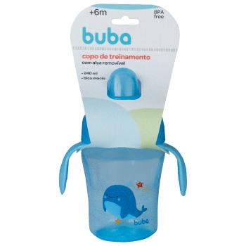 Copo Fundo do Mar Azul - Buba
