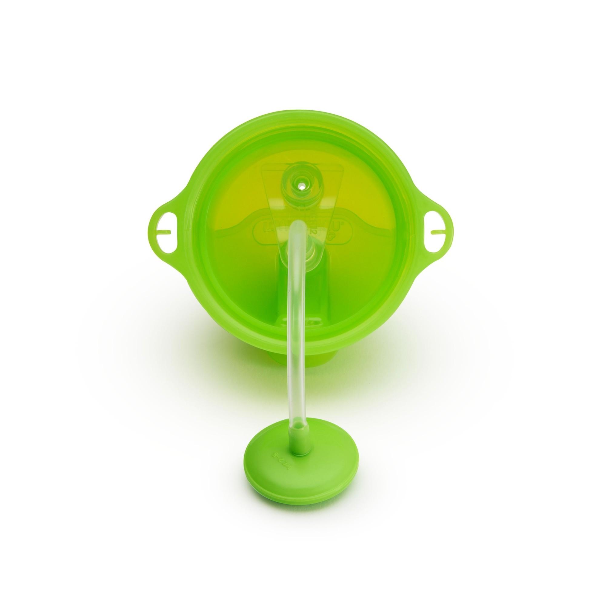 Copo Grande com Canudo Click Lock Verde - Munchkin