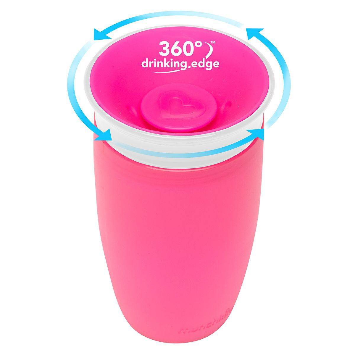 Copo Grande Miracle 360º 296ml Rosa