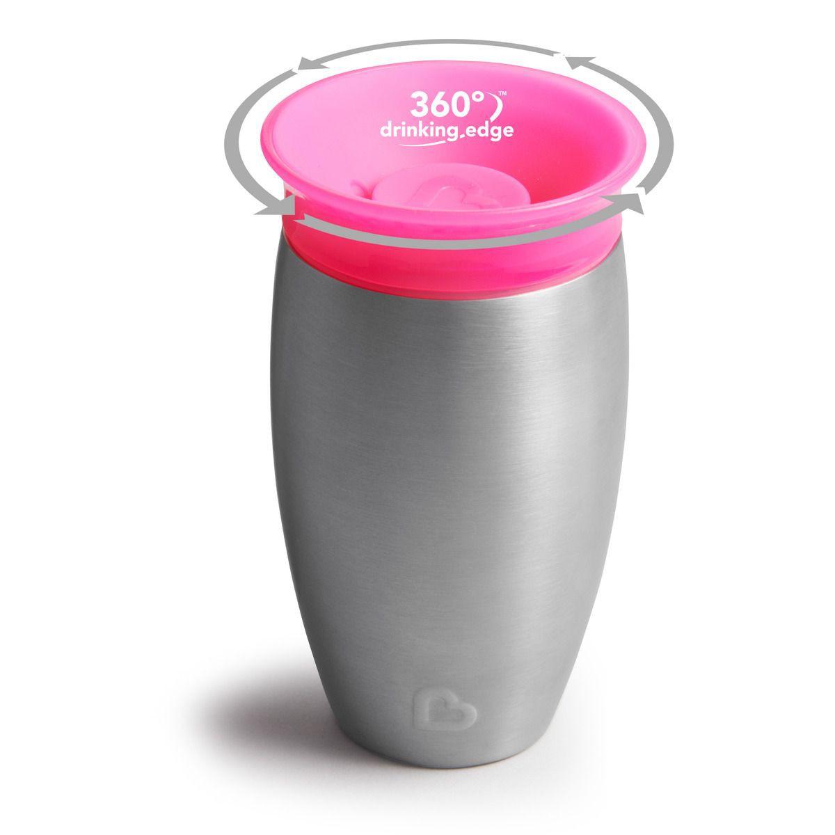 Copo Térmico Inox 360 Rosa