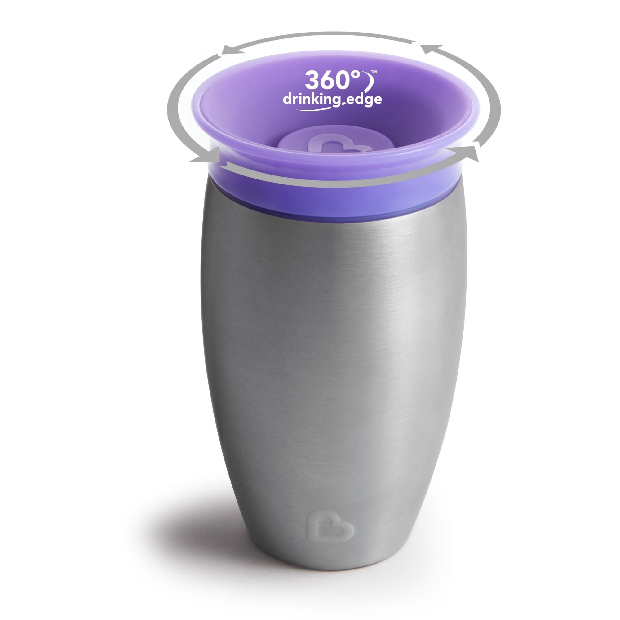 Copo Térmico Inox 360 Roxo