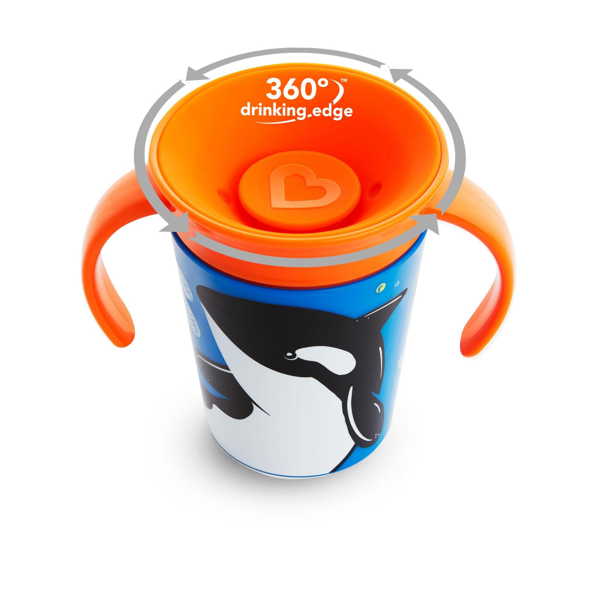 Copo Treinamento 360 Wild Baleia - Munchkin