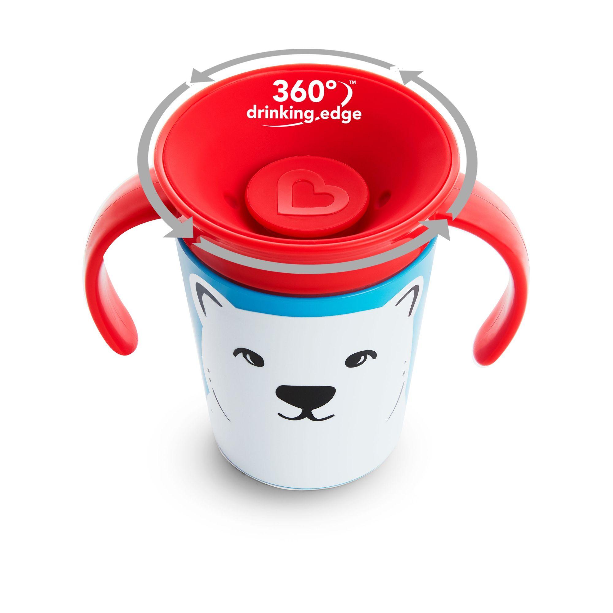 Copo treinamento 360 Urso Polar