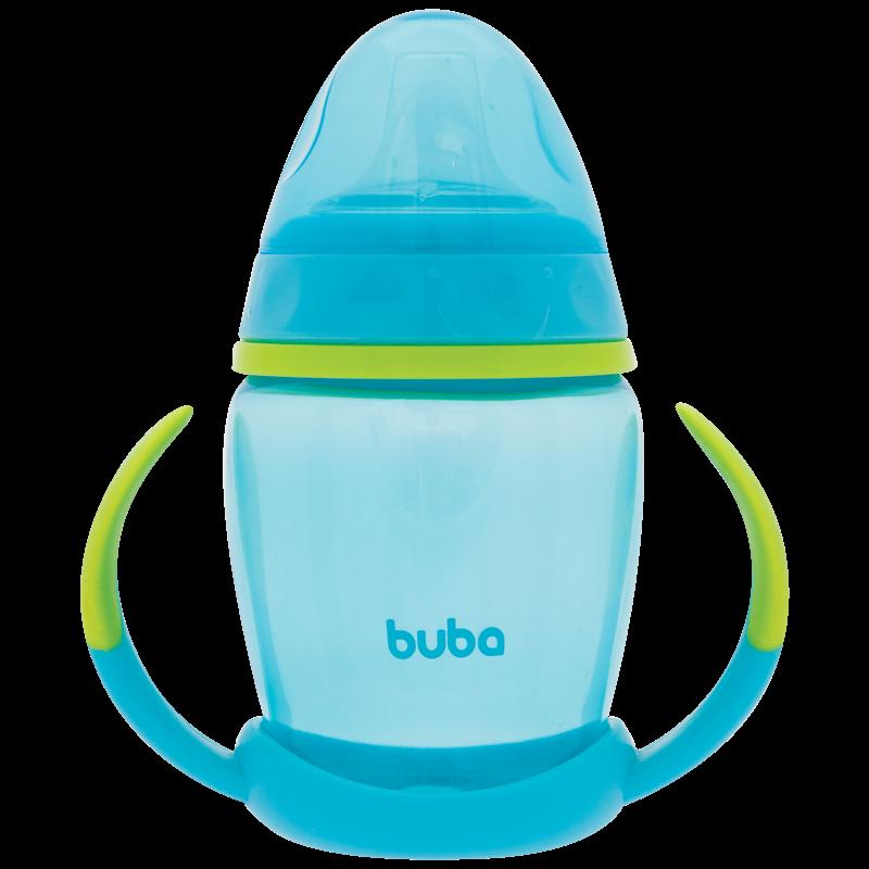 Copo Treinamento com Alça Removível Azul - Buba