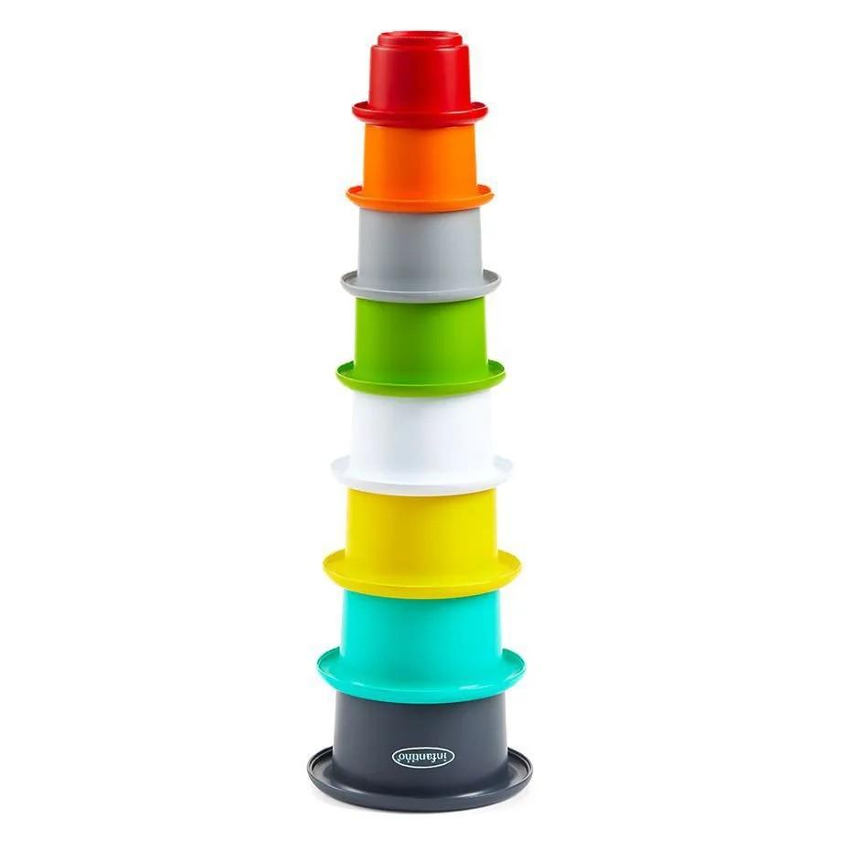Copos empilháveis - Brinquedo para Banho - Infantino