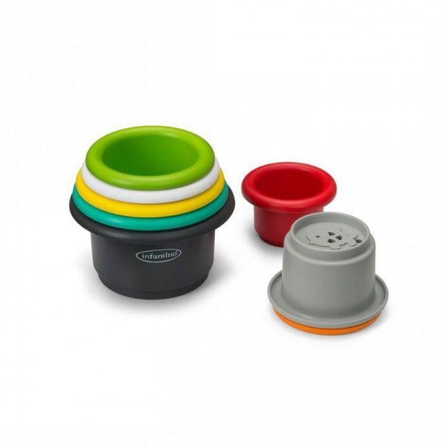 Copos empilháveis - Brinquedo para Banho