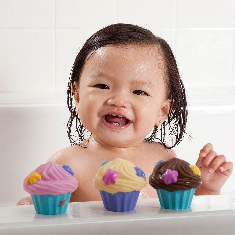 Cupcake divertido para Banho