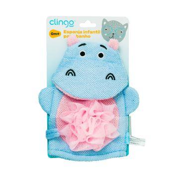Espoja para Banho Hipopótamo - Clingo