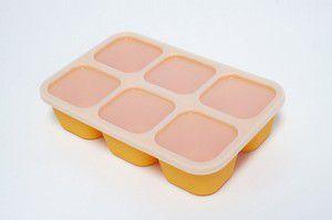 Forma para congelar alimento em silicone - Girafa