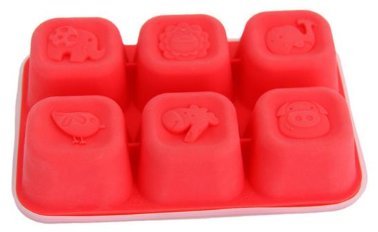 Forma para congelar alimento em silicone - Leão