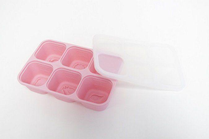Forma para congelar alimento em silicone - Porquinho