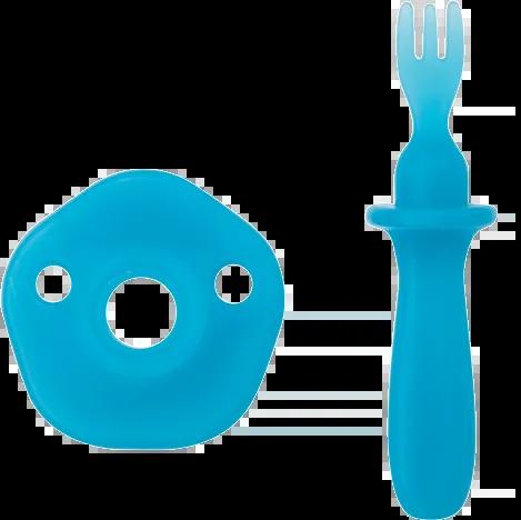 Garfinho para Frutas e Legumes Azul - Buba