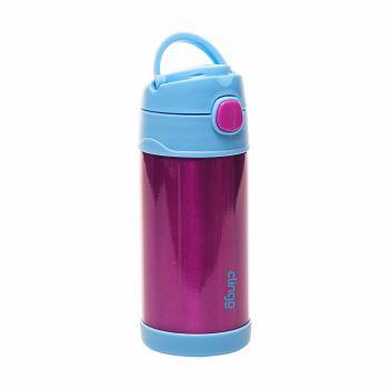 Garrafa Térmica Inox Azul e Pink - Clingo