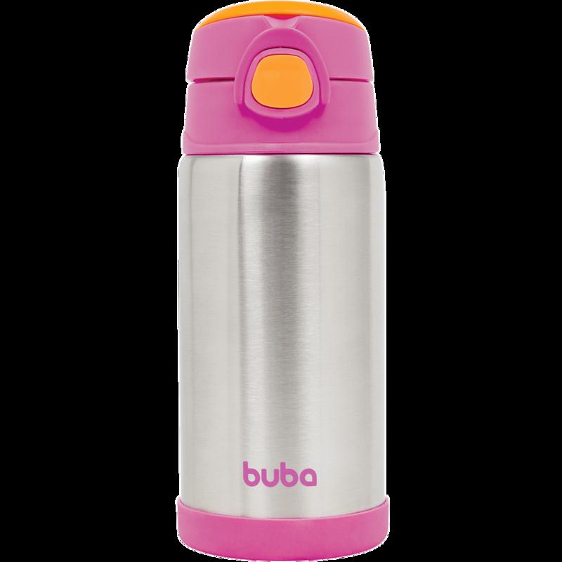 Garrafa Térmica Rosa - Buba