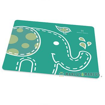 Jogo Americano Em Silicone Elefante