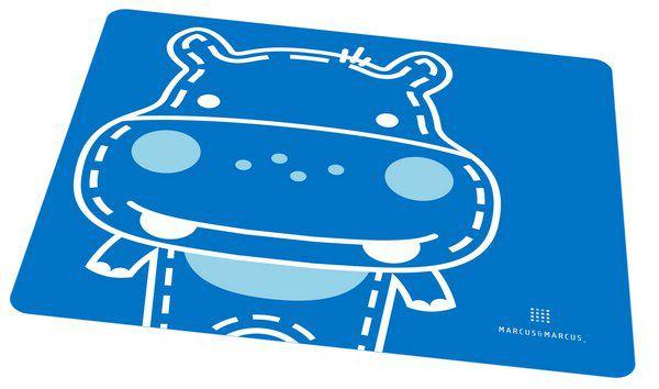 Jogo Americano Em Silicone Hipopótamo