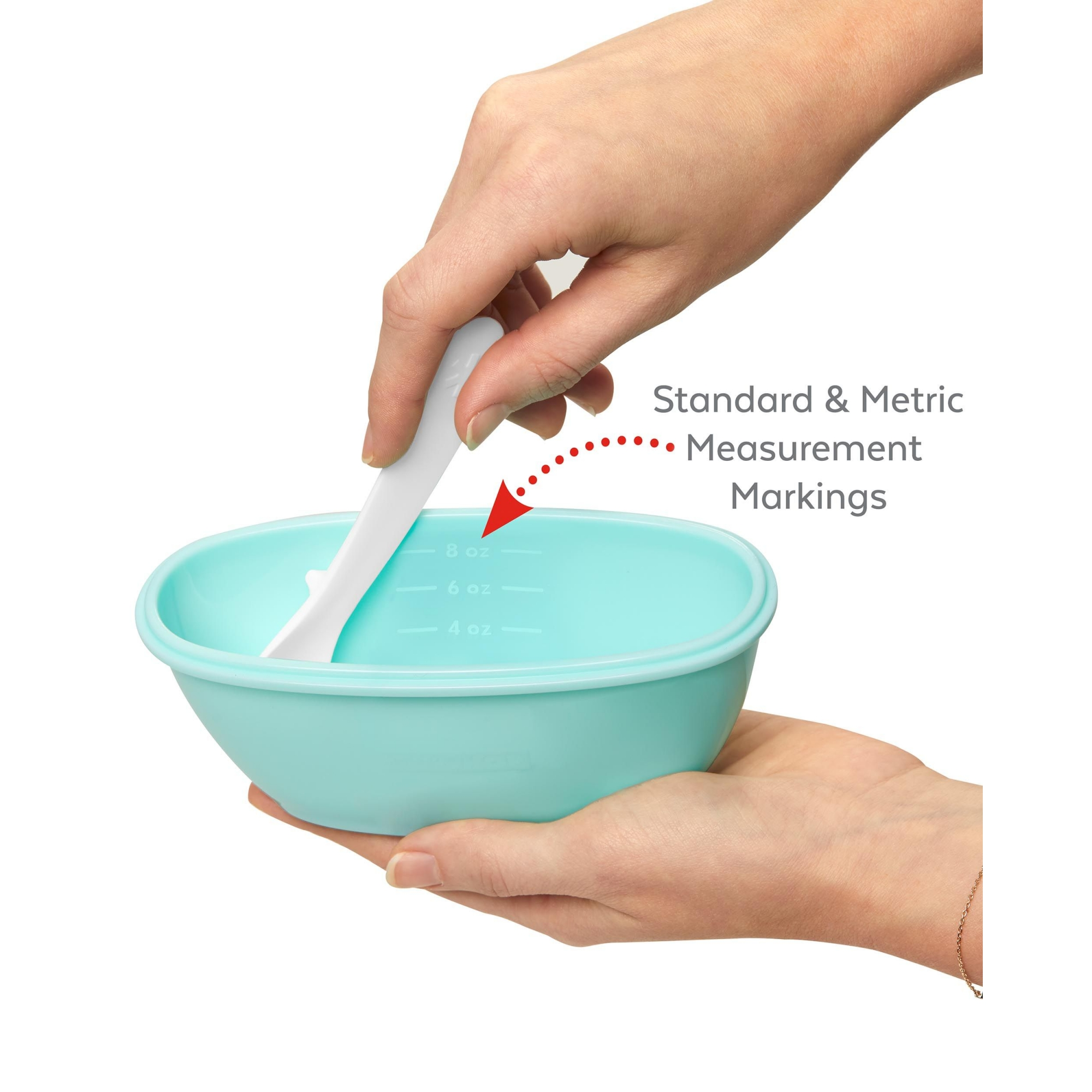 Kit Alimentação Bowl e Colher Easy-Serve (Azul Tiffany) - Skip Hop