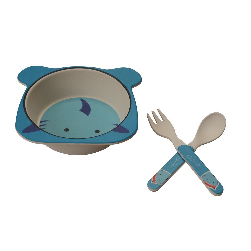 Kit Alimentação Tubarão (3 peças) - Girotondo