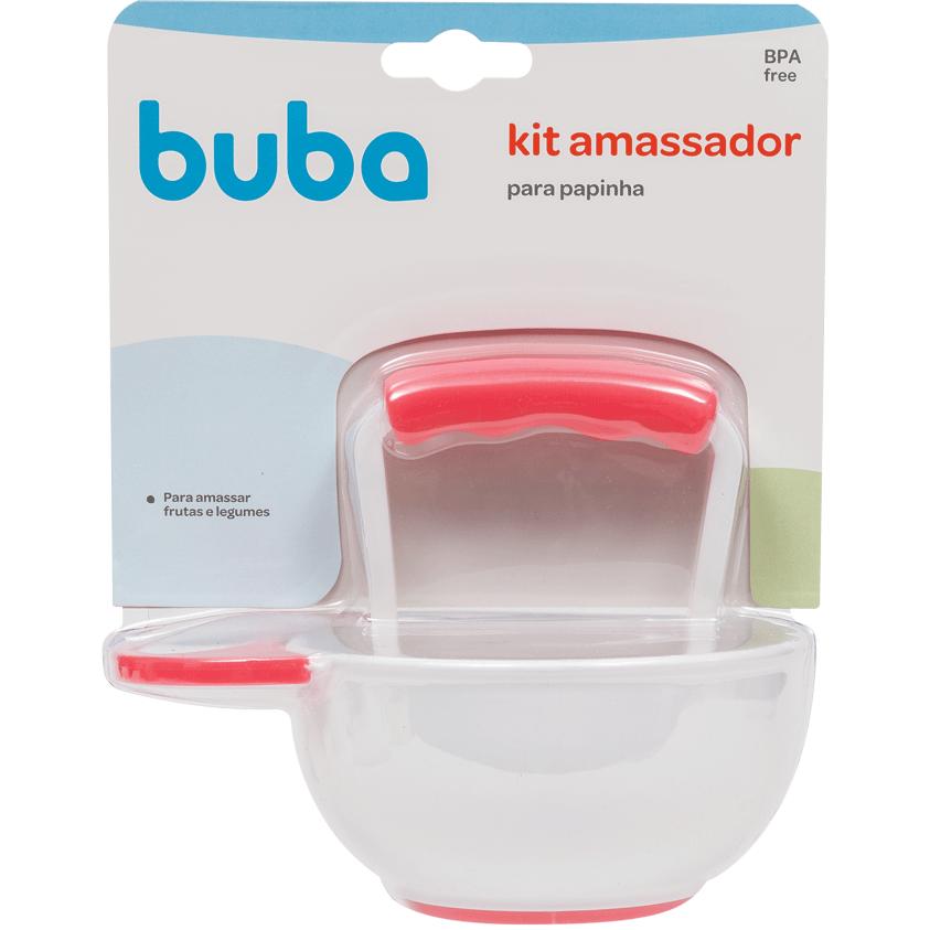 Kit Amassador para Papinha Rosa - Buba