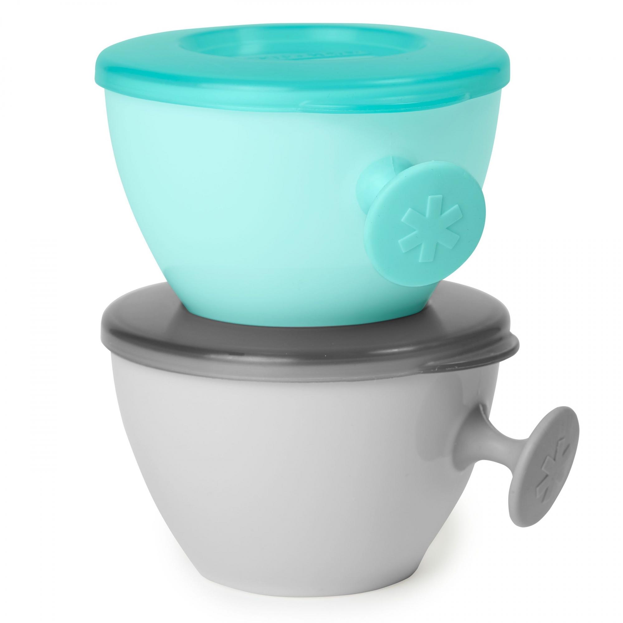 Kit Bowl Easy-Grab Cinza e Azul Tiffany - Skip Hop