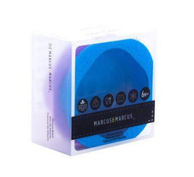 Kit com 2 tigelas em silicone azul e lilas