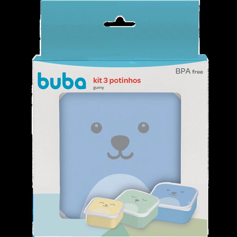 Kit Potinhos Gumy Azul - Buba