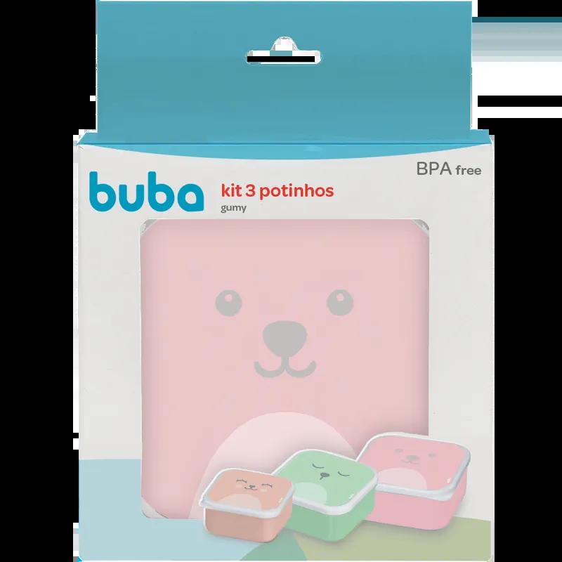 Kit Potinhos Gumy Rosa - Buba
