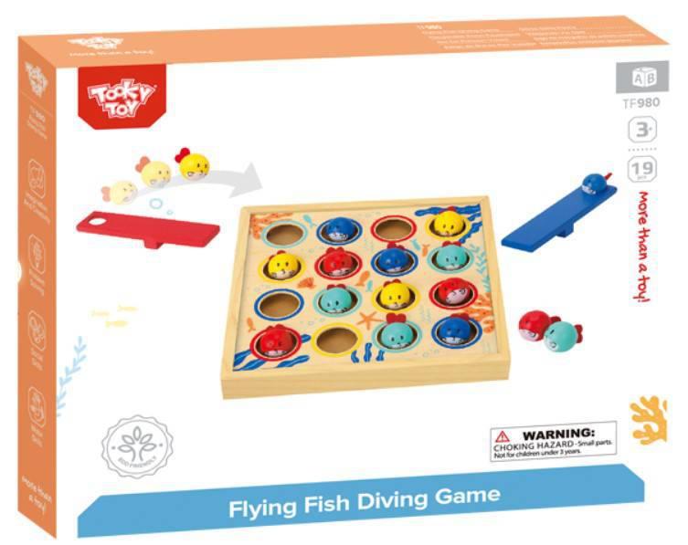 Mergulho dos Peixinhos - Tooky Toys