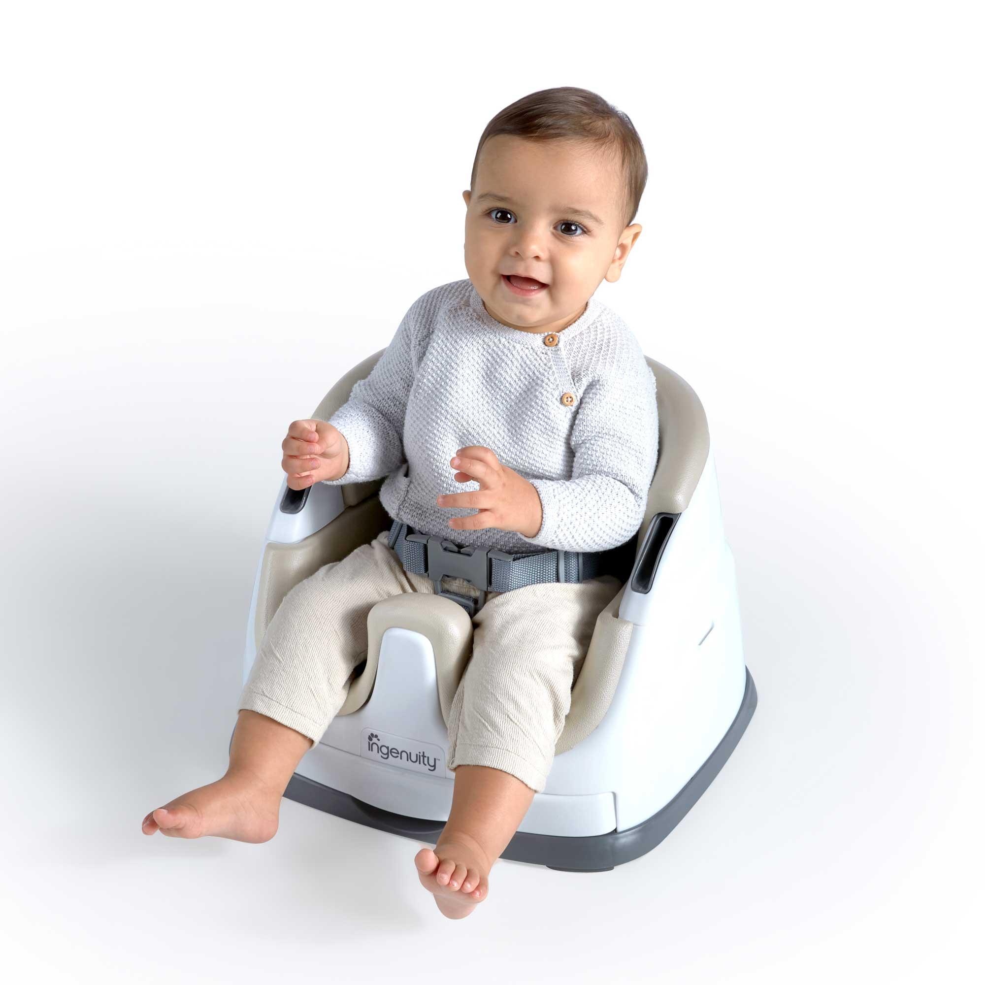 Multi Assento Baby Base 2 em 1 Creme - Ingenuity