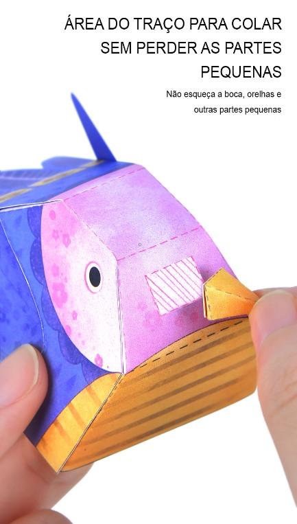 Origami Animais 3D - Mideer
