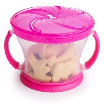 Porta Biscoitinhos Rosa - Munchkin