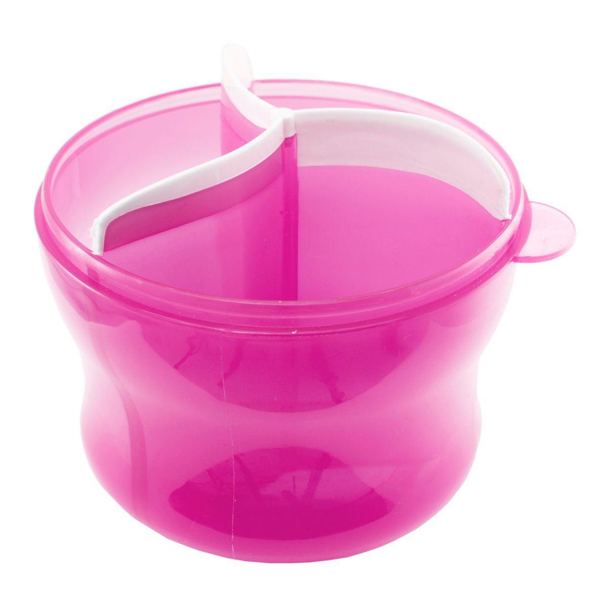 Porta leite Rosa - Munchkin
