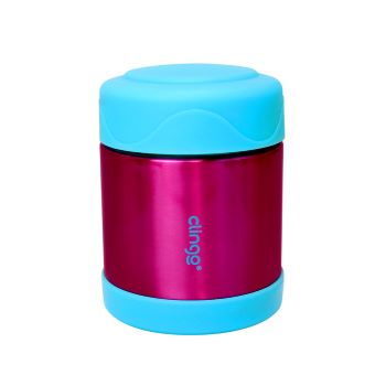 Pote Térmico Inox Azul/Rosa - Clingo