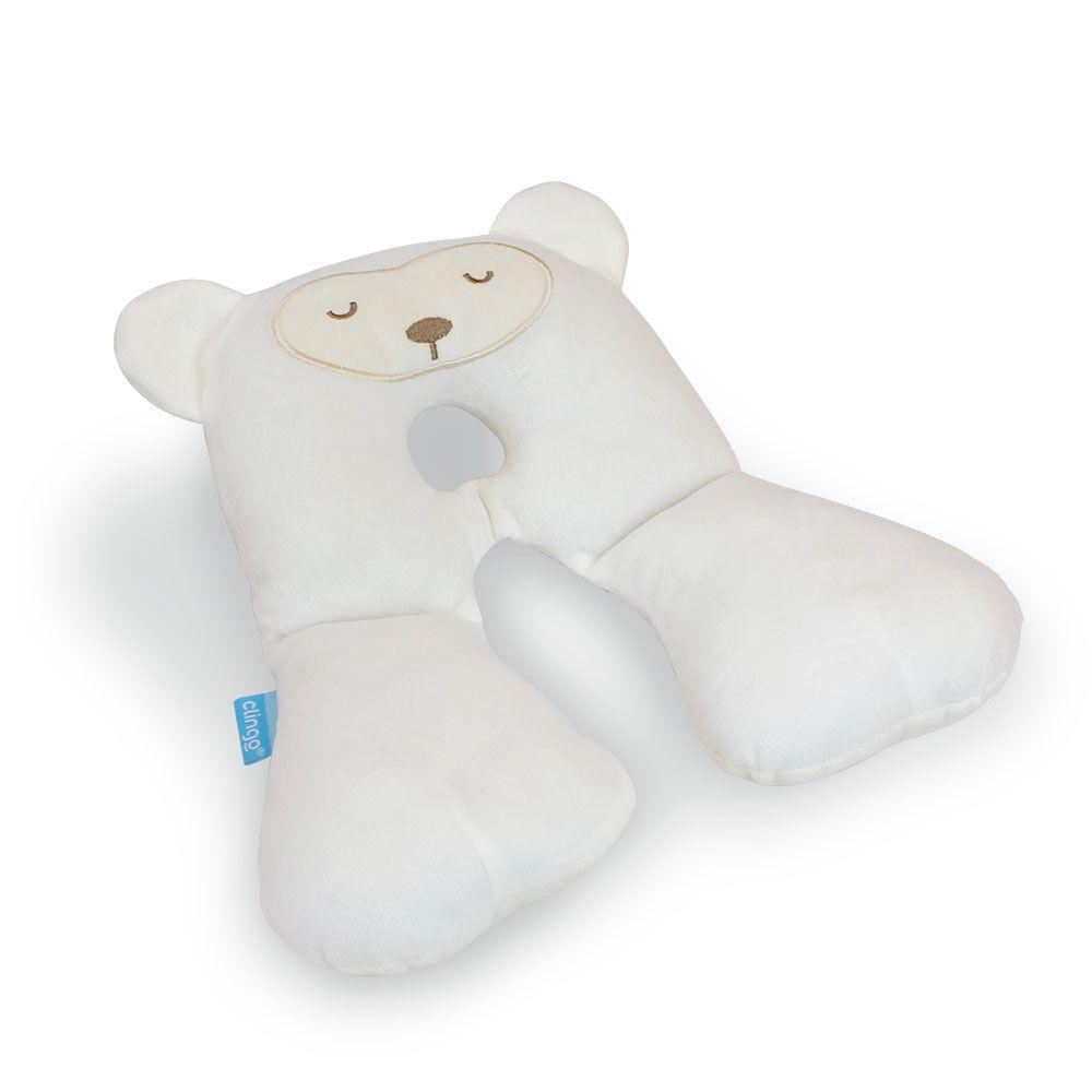 Protetor de pescoço para Recém Nascido  - branco