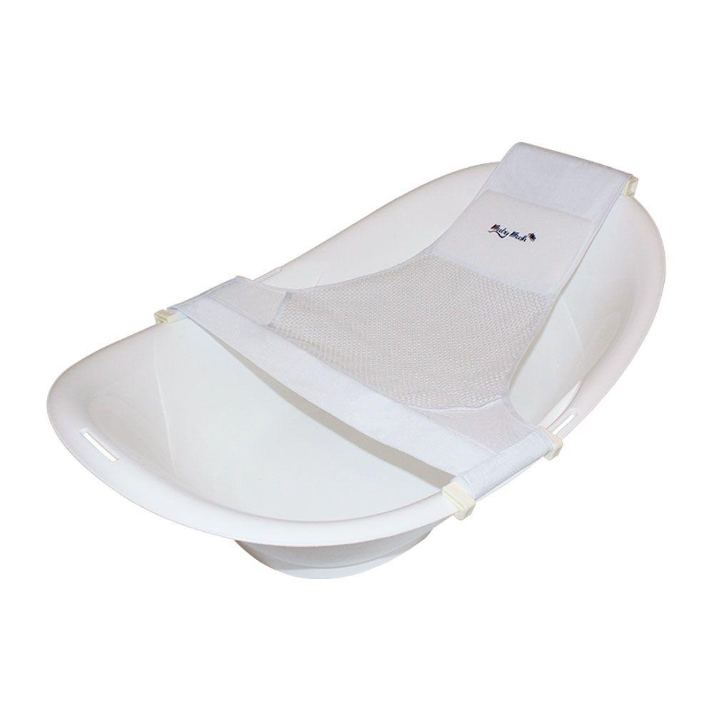 Redinha para banheira  branca - Baby Bath