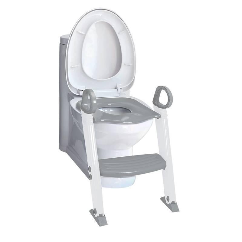 Redutor de Assento com Escada Cinza - Clingo