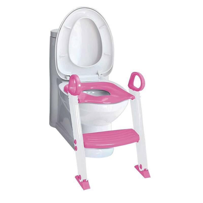 Redutor de Assento com Escada Rosa - Clingo