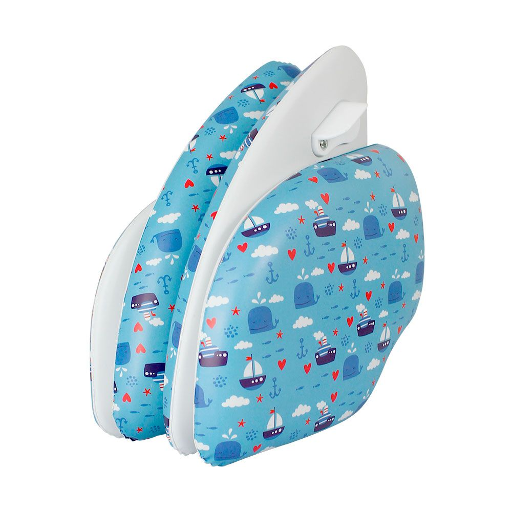 Redutor de Assento Sanitário Portátil Barco Azul - Clingo