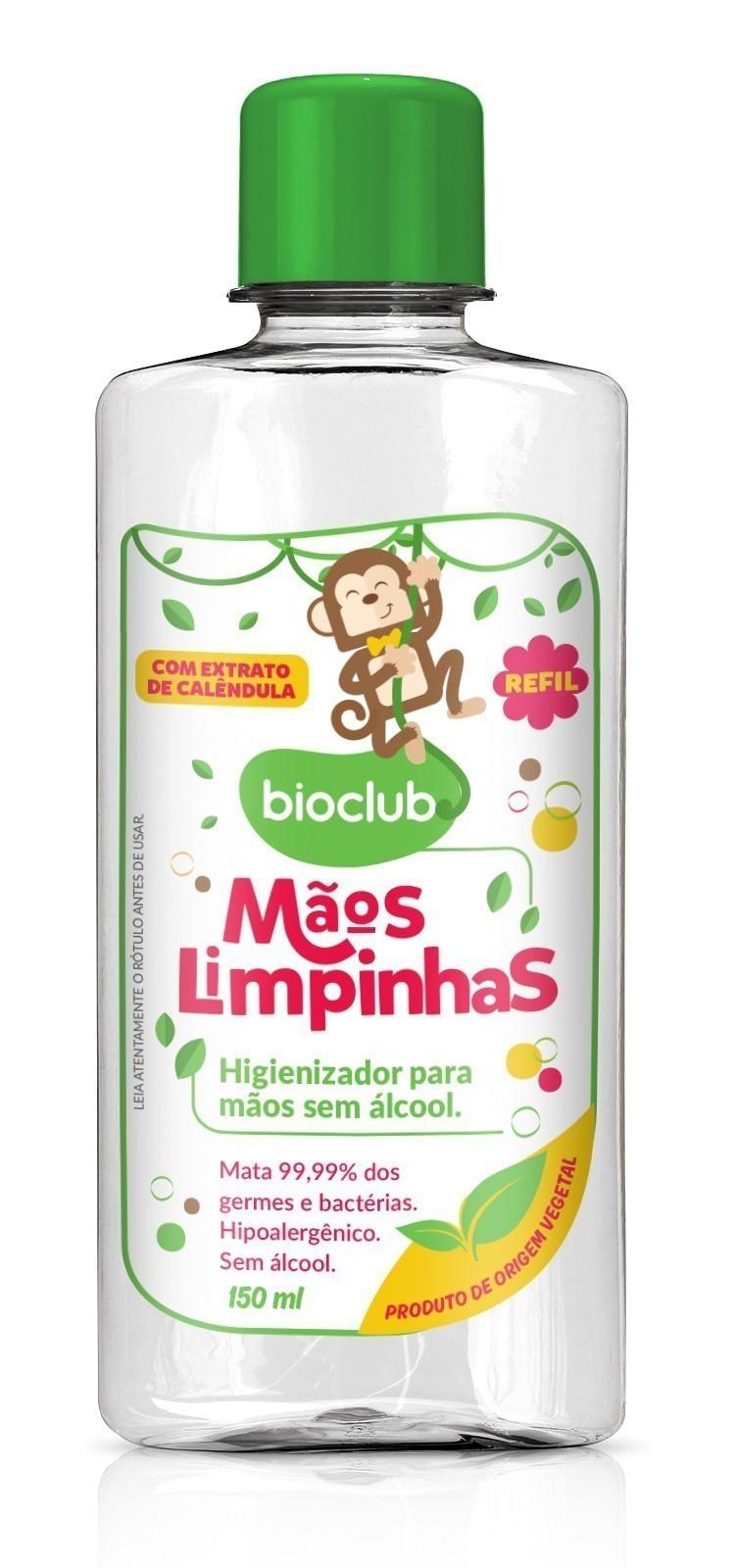Refil Mãos Limpinhas 150ml - Bioclub