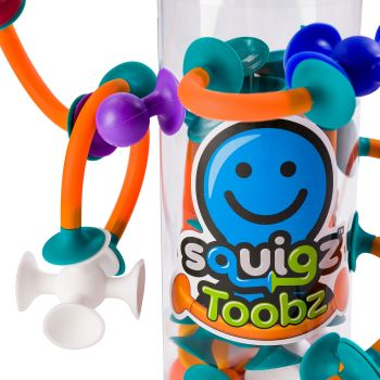 Squigz Toobz  Fat Brain Toys