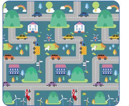 Tapete Colorido Festa ABC 180x1120x1cm