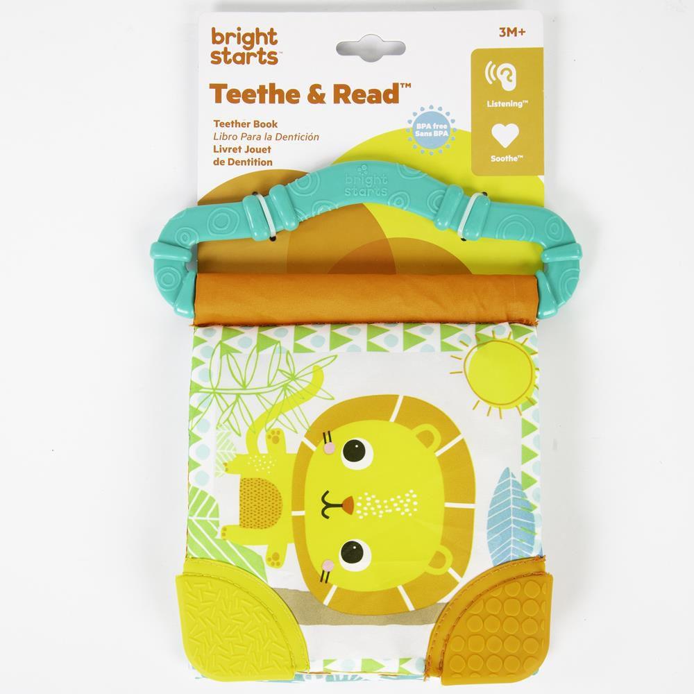 Livro com Mordedor Teethe & Read - Bright Starts