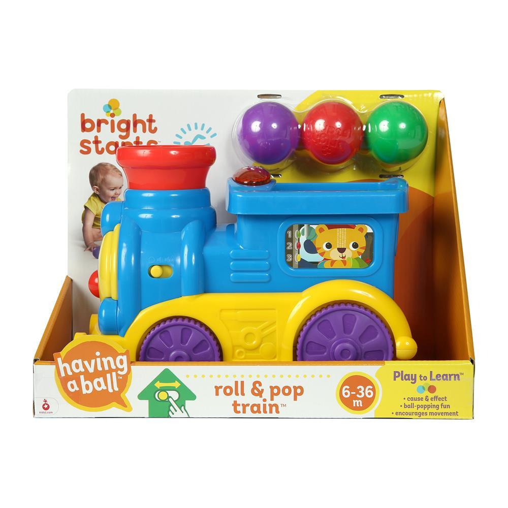 Trem Roll e Pop - Bright Starts