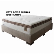 Conjunto Box Sealy Majesty Queen Size - 1,58 X 1,98