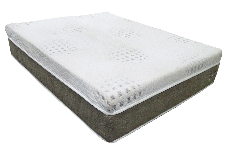 Colchão de Visco Englander Eco Visco King Size 1,93 x 2,03 com tecido em malha , 30 cm de altura e conforto firme