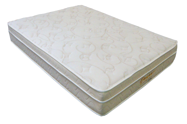 Colchão King Size 1,93 x 2,03 Denver com Molas Individuais Ensacadas Mattress One  - 25cm  - Macio