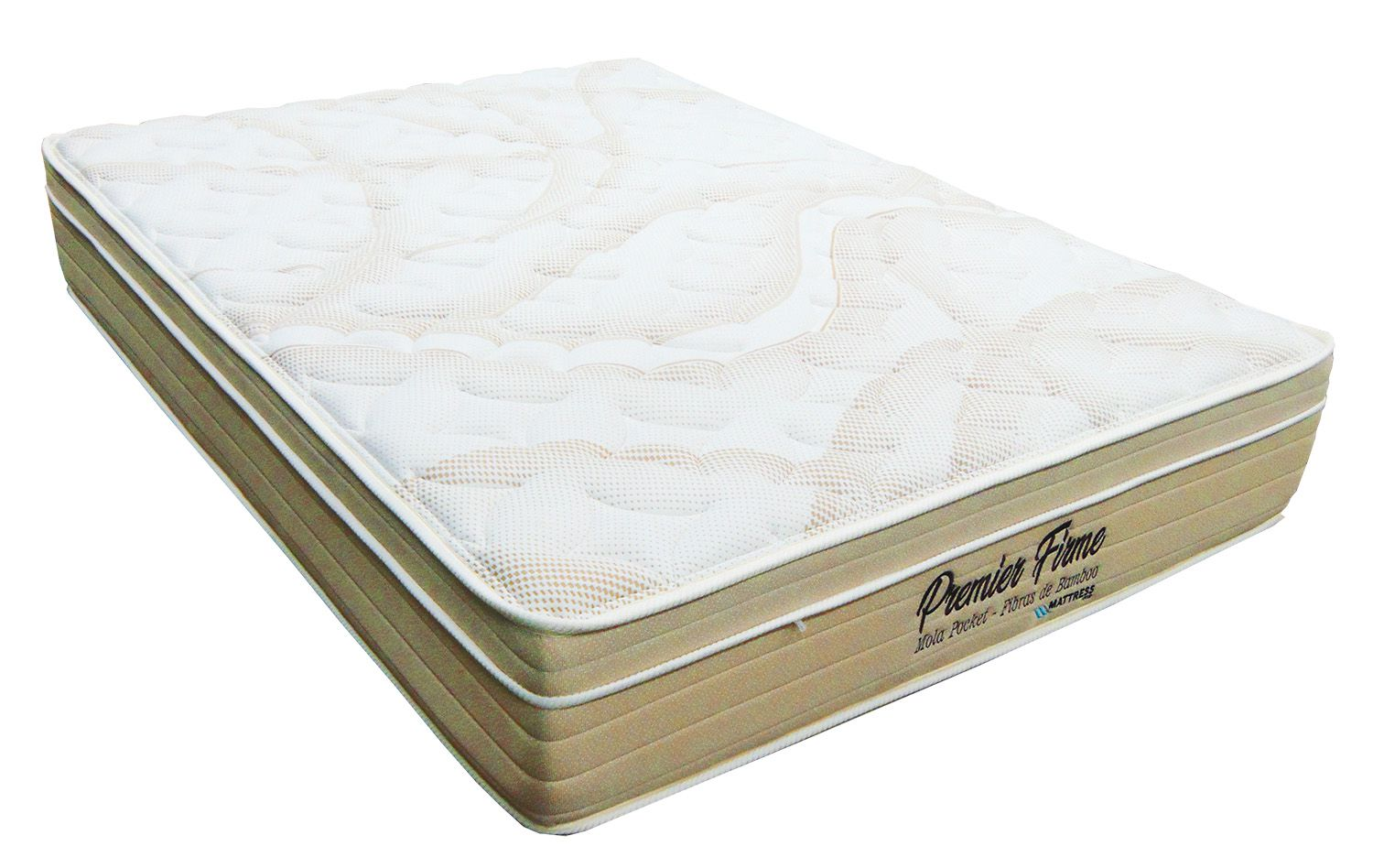 Colchão de Molas Ensacadas King Size 1,93 x 2,03  - Premier Firm - Mattress One - 29cm  - Firme