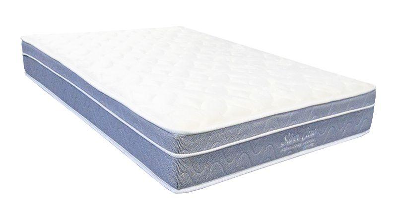 Colchão com Molas Individuais Ensacadas Mattress One Silver Care Casal 1,38 x 1,88 - Firme - 22cm