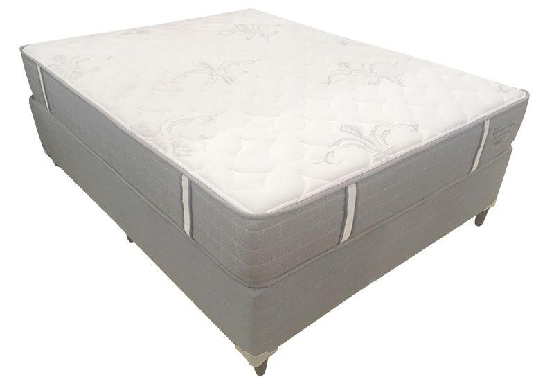 Conjunto (Colchão + Cama Box) Shifman Tiffany Casal 1,38 x 1,88 com molas individuais ensacadas, 30cm de altura, conforto firme, T-Latex e Infused Gel