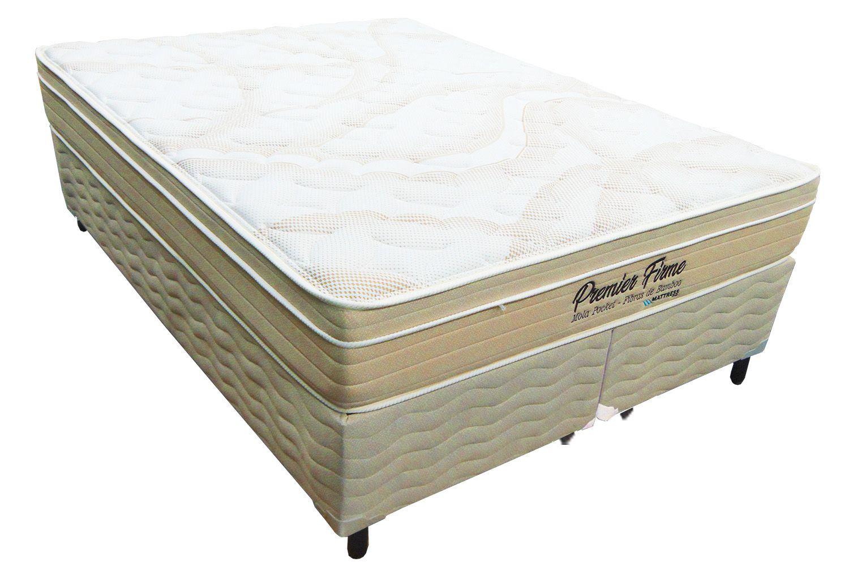 Conjunto Colchão + Cama Box Mattress One Premier Firm Queen Size 1,58 x 1,98 - 29cm - firme